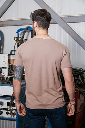 Sateen Men Erkek Taş B. Yaka Kısa Kol T-Shirt 2