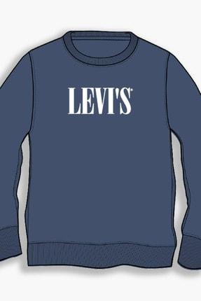 Levi's ErkekMavi Sweatshirt 38712-0006 0