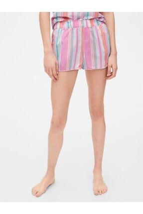 GAP Desenli Poplin Pijama Altı 0