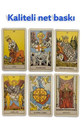 MATEO Tarot Kartları (kullanma Kılavuzlı) Türkçe Englısh Arabic 4