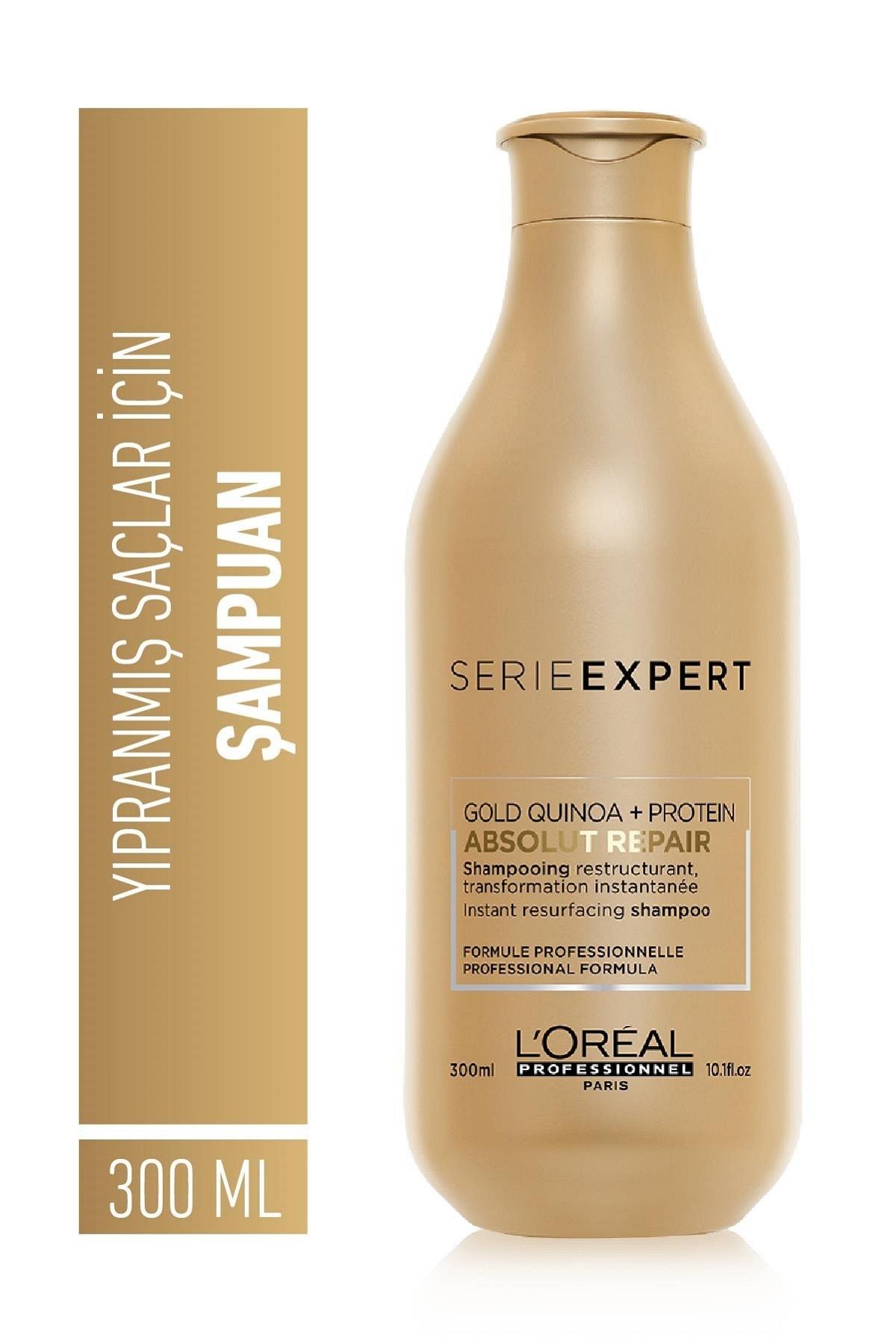 Serie Expert Absolut Repair Yıpranmış Saçlar için Onarıcı Şampuan 300 ml