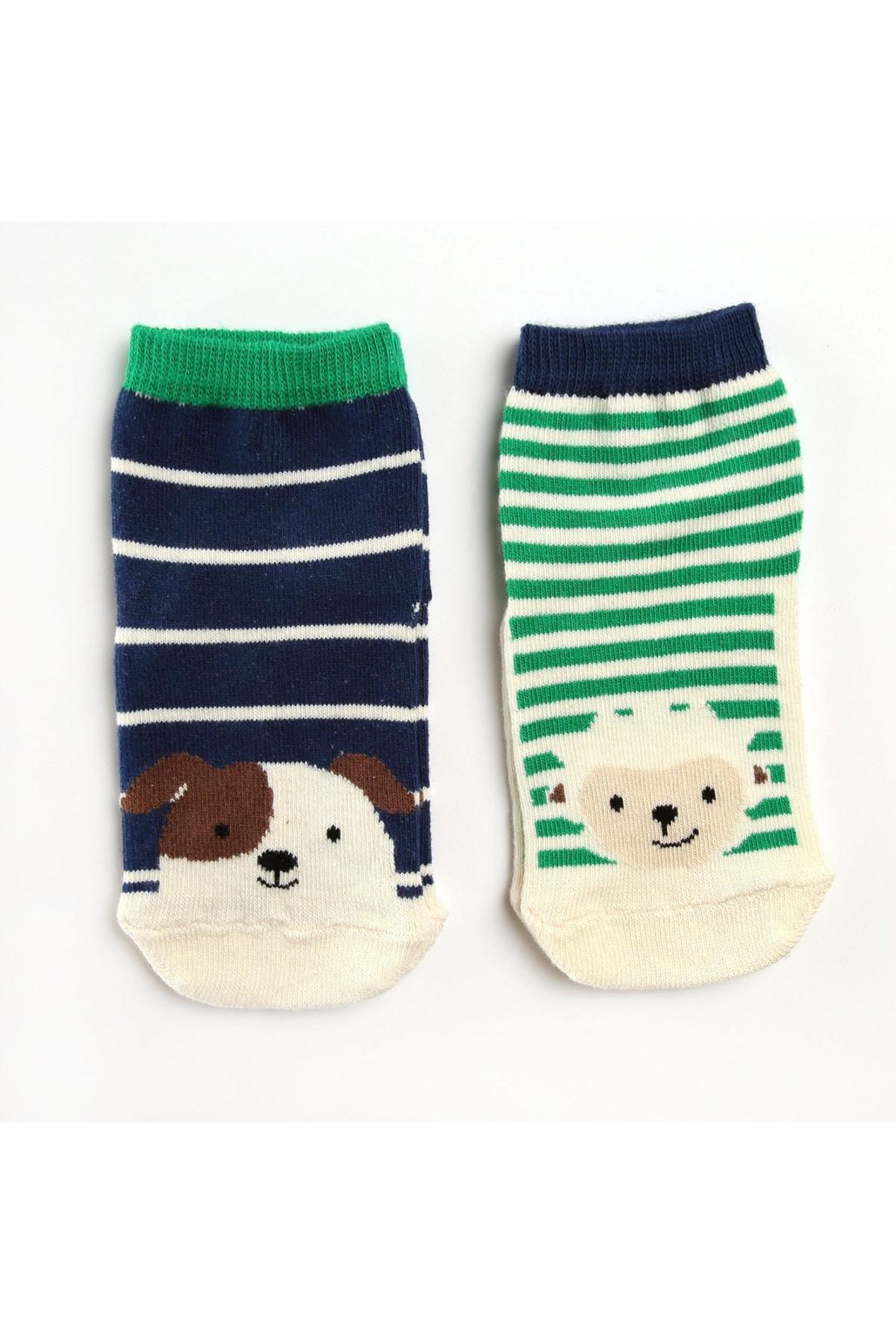 2li Kaydırmaz Çorap