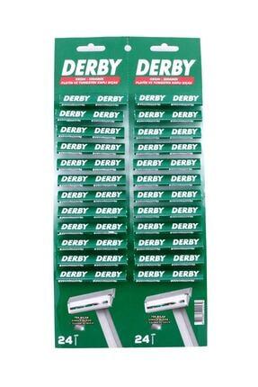 Derby Kartela Tek Traş Bıçağı 48 Li 0