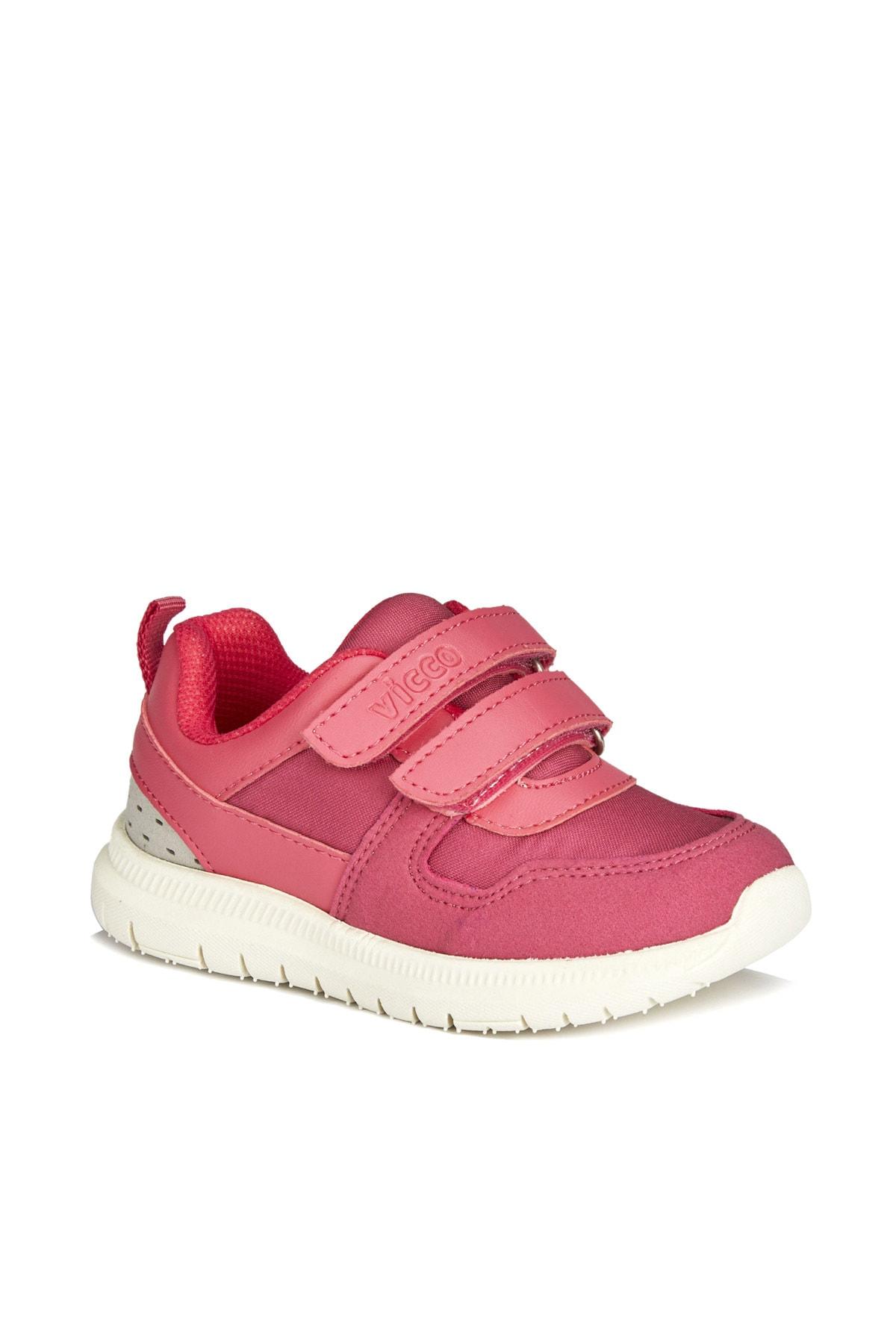 Solo Hafif Kız Bebe Fuşya Spor Ayakkabı