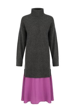 Twist Renk Geçişli Elbise 3