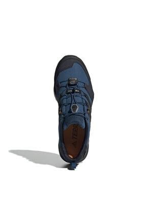 adidas Erkek Lacivert Outdoor Ayakkabısı - Terrex Swift R2 Gore-Tex- G26553 3