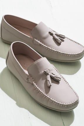 Elle AEKER Hakiki Deri Vizon Erkek Ayakkabı 0