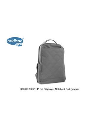 Addison Addison 300873 13.3-14 Gri Bilgisayar Notebook Sırt Çantası 4
