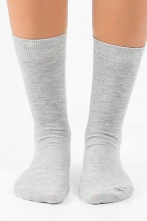 تصویر از 4'lü Kadın Soket Çorap - Düz Renk