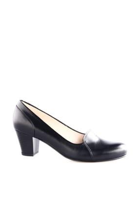 Dgn Siyah Kadın Klasik Topuklu Ayakkabı 258-148 0