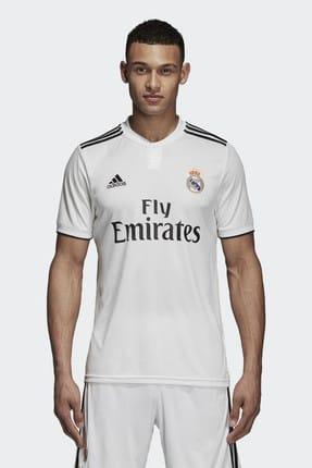 adidas Erkek Real Madrid Beyaz Forma DH3372 0