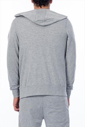 HUMMEL Erkek Sweatshirt - Damıen Zıp Hoodıe - T36840-2006 1