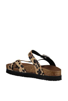 Fox Shoes Leopar Kadın Terlik B777753002 3