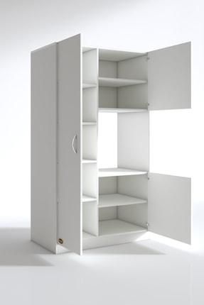Kenzlife Beyaz Ankastre Fırın Dolabı Banu Mutfak Banyo Kiler Ofis Kitaplık 2