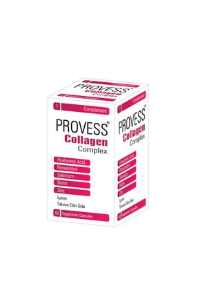 Pharmaq Provess Collagen Complex (60 Kapsül) 0
