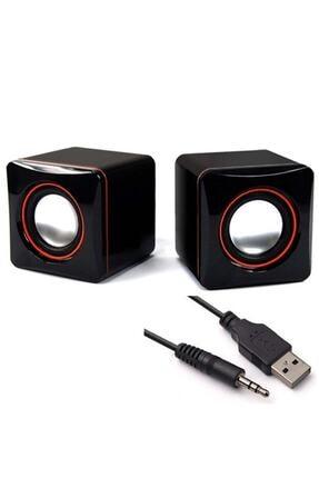 Wonderlust Multimedya 1+1 Mini Pc Hoparlör 2.0 Usb Speaker 2.5w 0