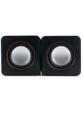Wonderlust Multimedya 1+1 Mini Pc Hoparlör 2.0 Usb Speaker 2.5w 2