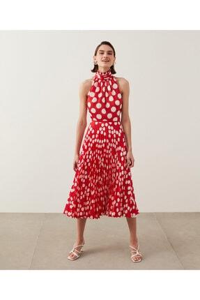 İpekyol Puantiye Desen Elbise 1