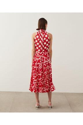 İpekyol Puantiye Desen Elbise 2