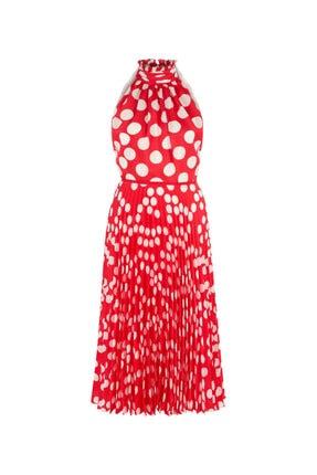 İpekyol Puantiye Desen Elbise 3