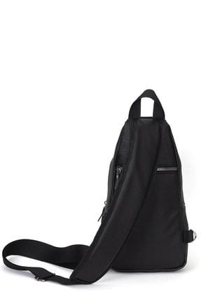 Leyl Yıkama Deri Göğüs Çantası Kulaklık Ve Şarj Çıkışlı Tek Kol Çarpraz Bodybag Mini Sırt Çanta 4