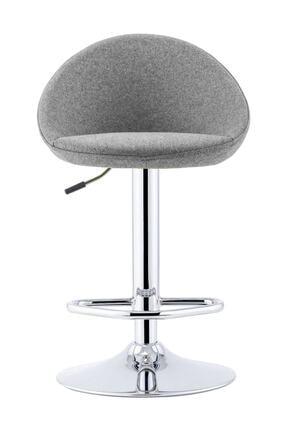 Sandalye Online Rena Ayarlanabilir Bar Sandalyesi Gri 0