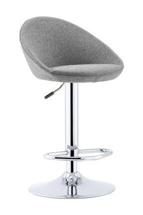 Sandalye Online Rena Ayarlanabilir Bar Sandalyesi Gri 1