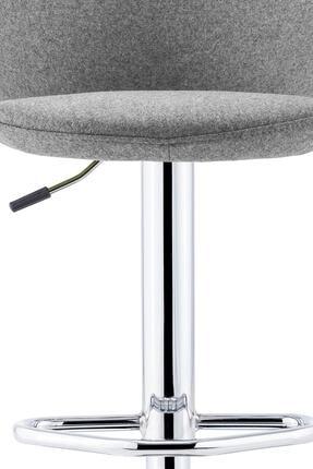 Sandalye Online Rena Ayarlanabilir Bar Sandalyesi Gri 2