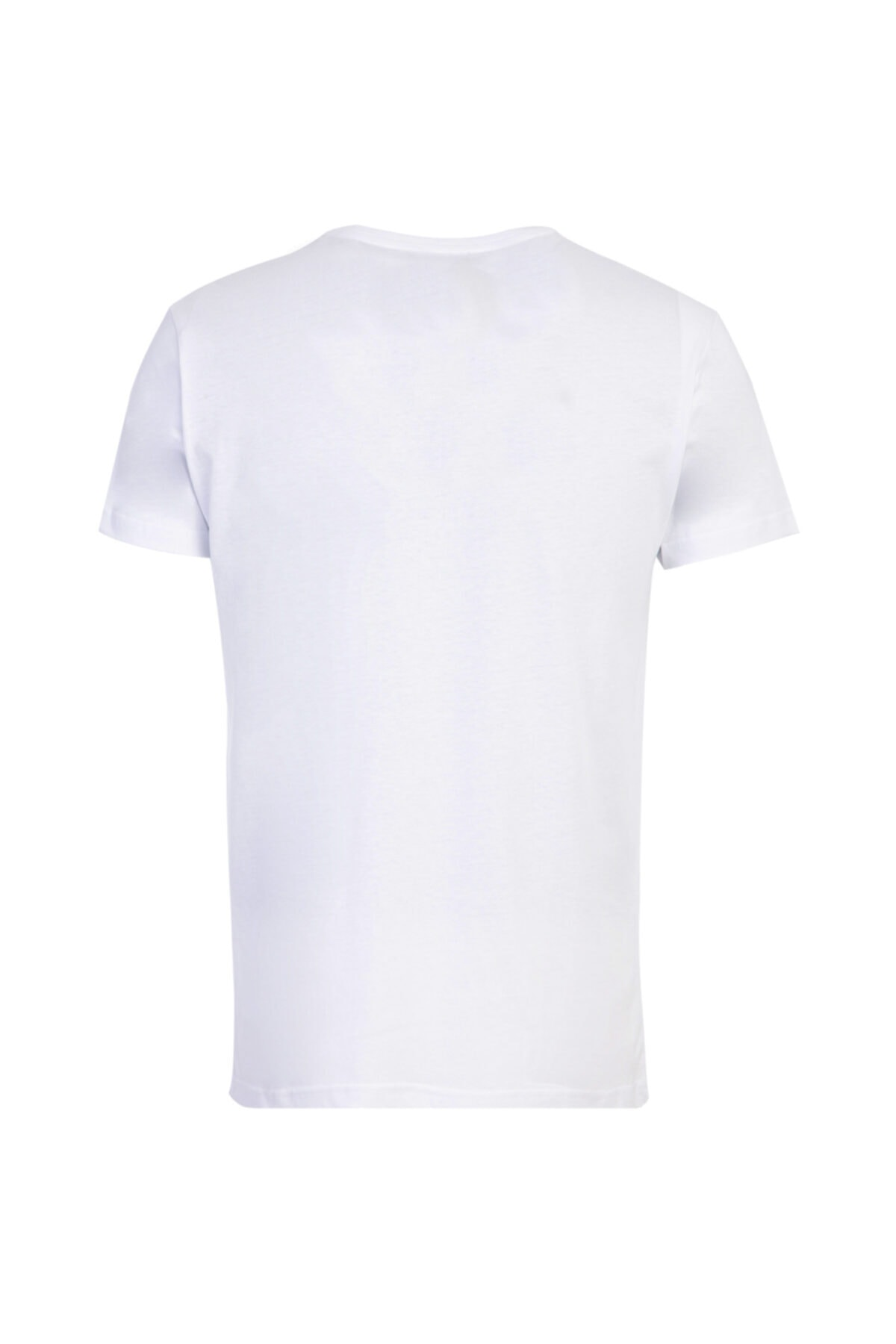 Kiğılı Bisiklet Yaka Slim Fit Tişört