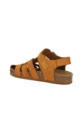 Vicco Arena Erkek Bebe Camel Sandalet 2