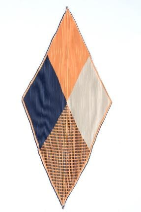Y-London 13484 Patchwork Desenli Pliseli Fular 2
