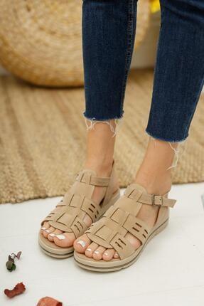 Muggo Mglily07 Kadın Günlük Sandalet 3