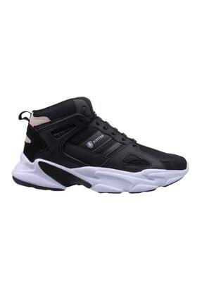Erkek Basket Ayakkabı Siyah-beyaz 211-1723 resmi