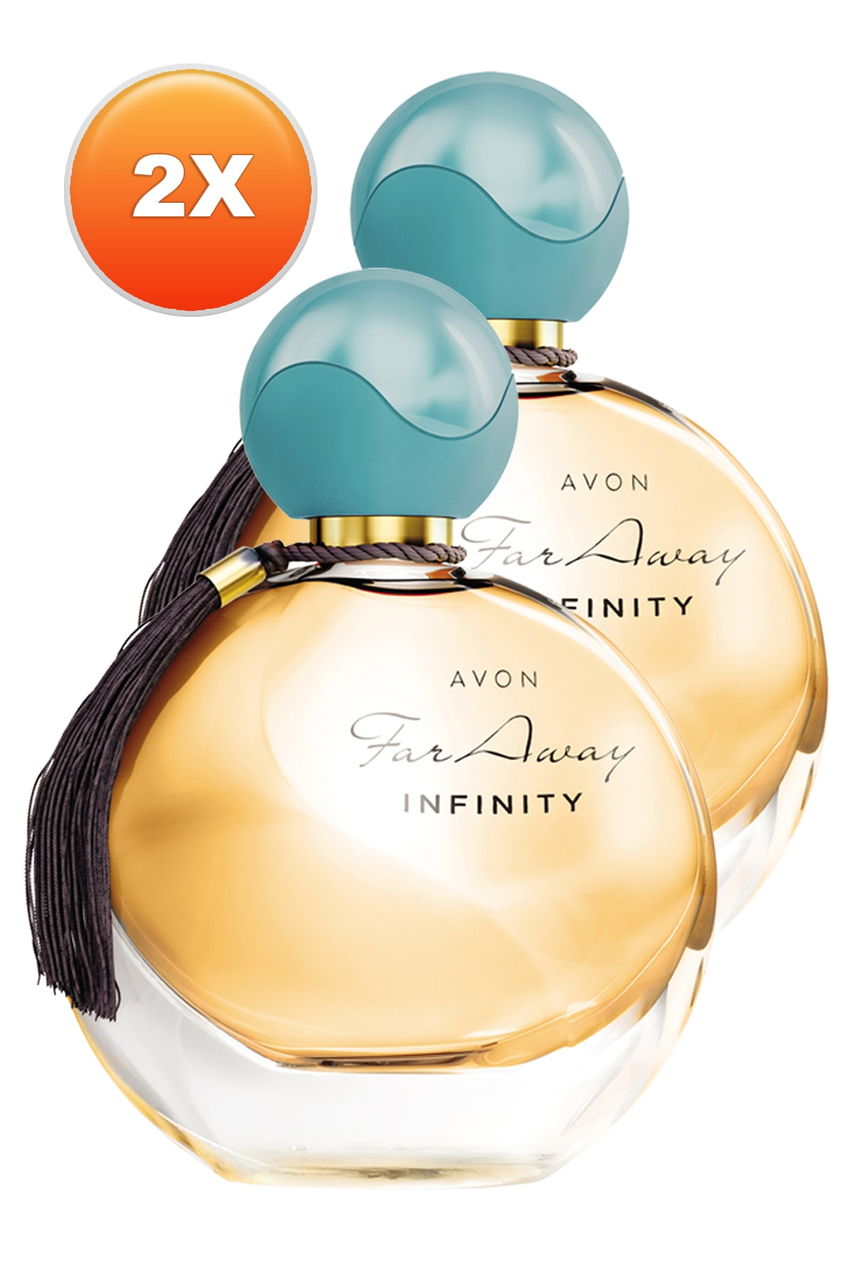Avon Far Away Infinity Kadın Parfüm Edp 50 ml 2'li Set 5050000101974 1