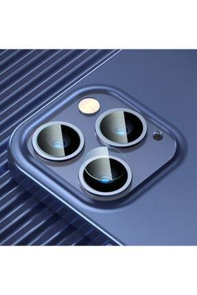 Baseus Iphone 12 Pro 6.1-pro Max 6.7 Uyumlu  Tempered Kamera Lens Koruma Camı 2set 0