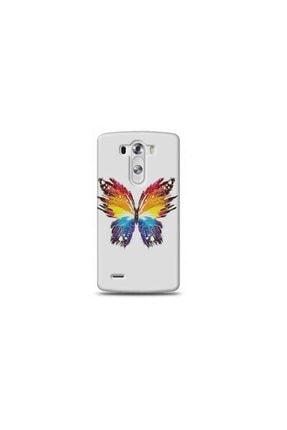 Ren Geyik Lg G3 Mini Kelebek Tasarımlı Telefon Kılıfı Y-minimalkf0040 0