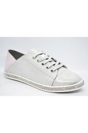 WARHOL SHOES Kadın Gümüş Spor Ayakkabı 1