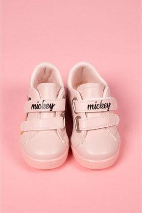 modawars Kız Çocuk Pembe Baskılı Spor Ayakkabı 883-101 1