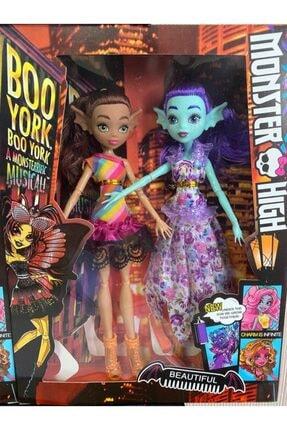 Tek Favorim Monster High 2 Li Bebekler 30 Cm Oyuncak Vampir Bebekler 0