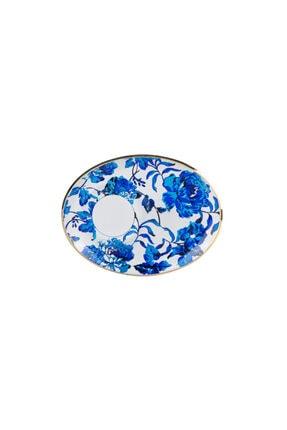 Karaca Blue Rosa 12 Parça 6 Kişilik Çay Seti 1