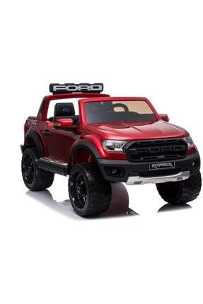 Ford Lisanslı Ranger Raptor Tablet Ekranlı 24v Çift Akülü Araba 4 Motorlu Gerçek 4x4 Akülü Pikap Jip 4