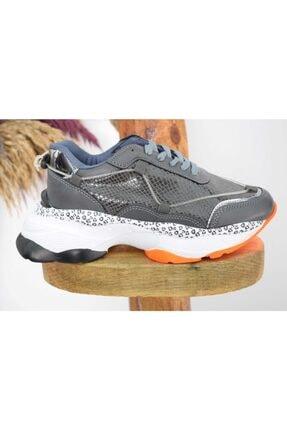 Kadın Gri Spor Ayakkabı Mc14-622 HB1679a7-47181
