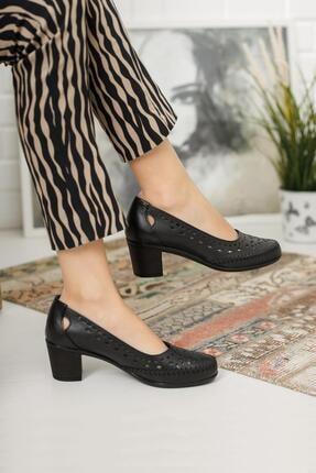 Diego Carlotti Kadın Deri Günlük Klasik Topuklu Ayakkabı 0