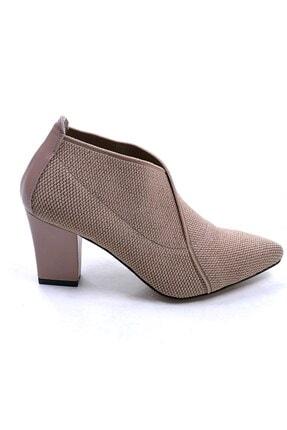 Ustalar Ayakkabı Çanta Bej Kadın Topuklu Ayakkabı 364.2256 1