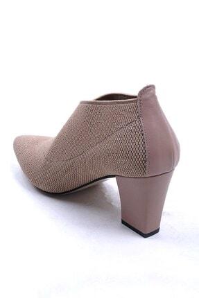 Ustalar Ayakkabı Çanta Bej Kadın Topuklu Ayakkabı 364.2256 2