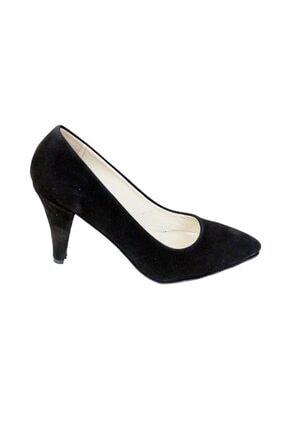 Ustalar Ayakkabı Çanta Siyah Süet Kadın Hakiki Deri Stiletto 364.2713 1
