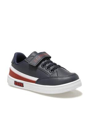 US Polo Assn JAMAL 1FX Lacivert Erkek Çocuk Sneaker Ayakkabı 100911033 0