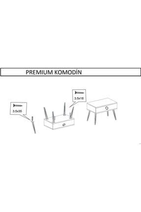 Bersemo Mobilya Premium Komodin 4