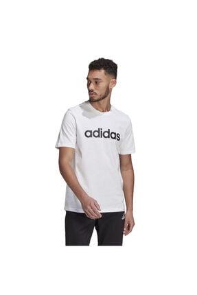 adidas Essentials Embroidered Linear Logo Short-sleeve Erkek Tişört 0