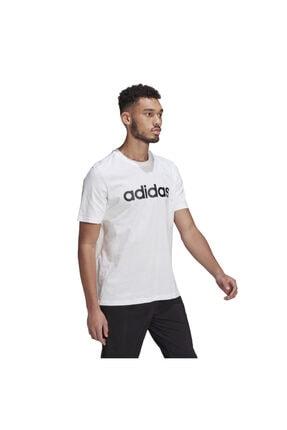 adidas Essentials Embroidered Linear Logo Short-sleeve Erkek Tişört 1